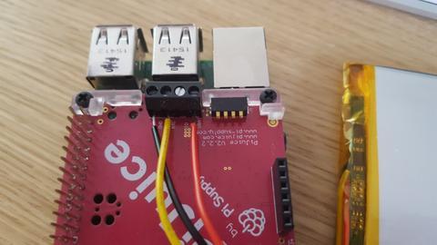 Anschluss einer Li-Po Batterie an PiJuice HAT