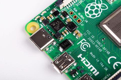 Stromversorgung Raspberry Pi 4 USB-C