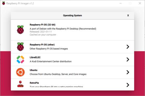 Raspberry Pi Imager OS